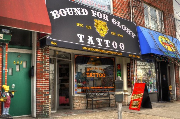 Bound for Glory Tattoo